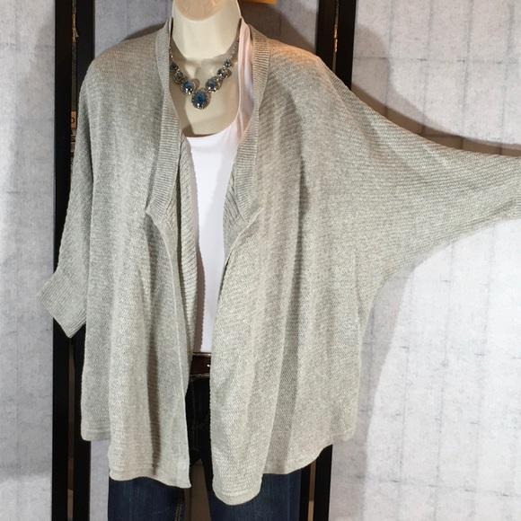 b0bdd797161 Madewell gray soft fuzzy cardigan sweater